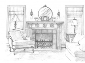 Fireplace Maria Barkovskaya