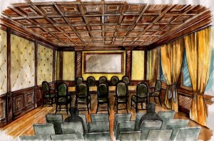 Room345 paint Maria Barkovskaya