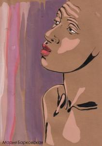 brownportrait Maria Barkovskaya