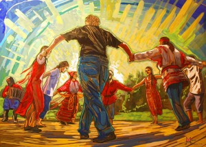 dance Maria Barkovskaya