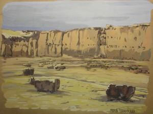desert Maria Barkovskaya
